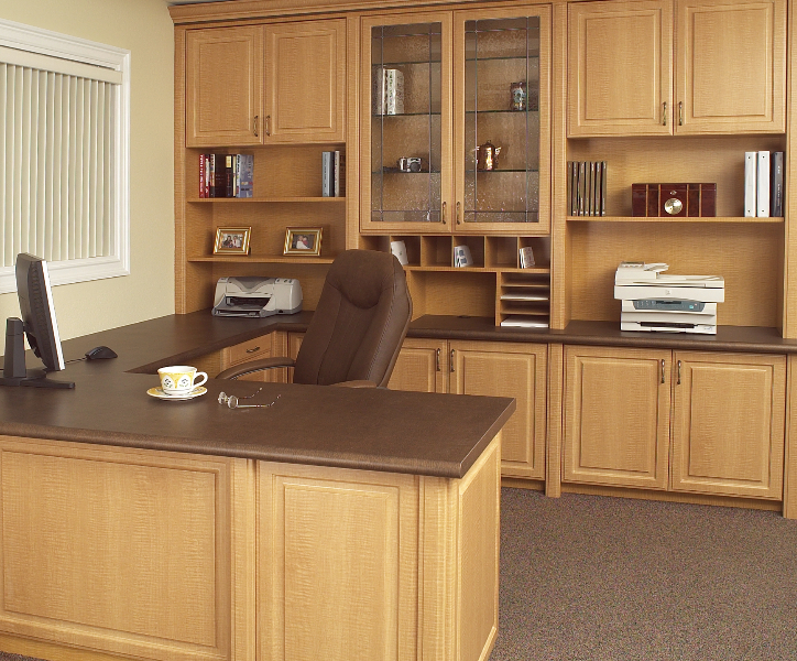 Elegant efficiency office1 trade the corner office for the home office